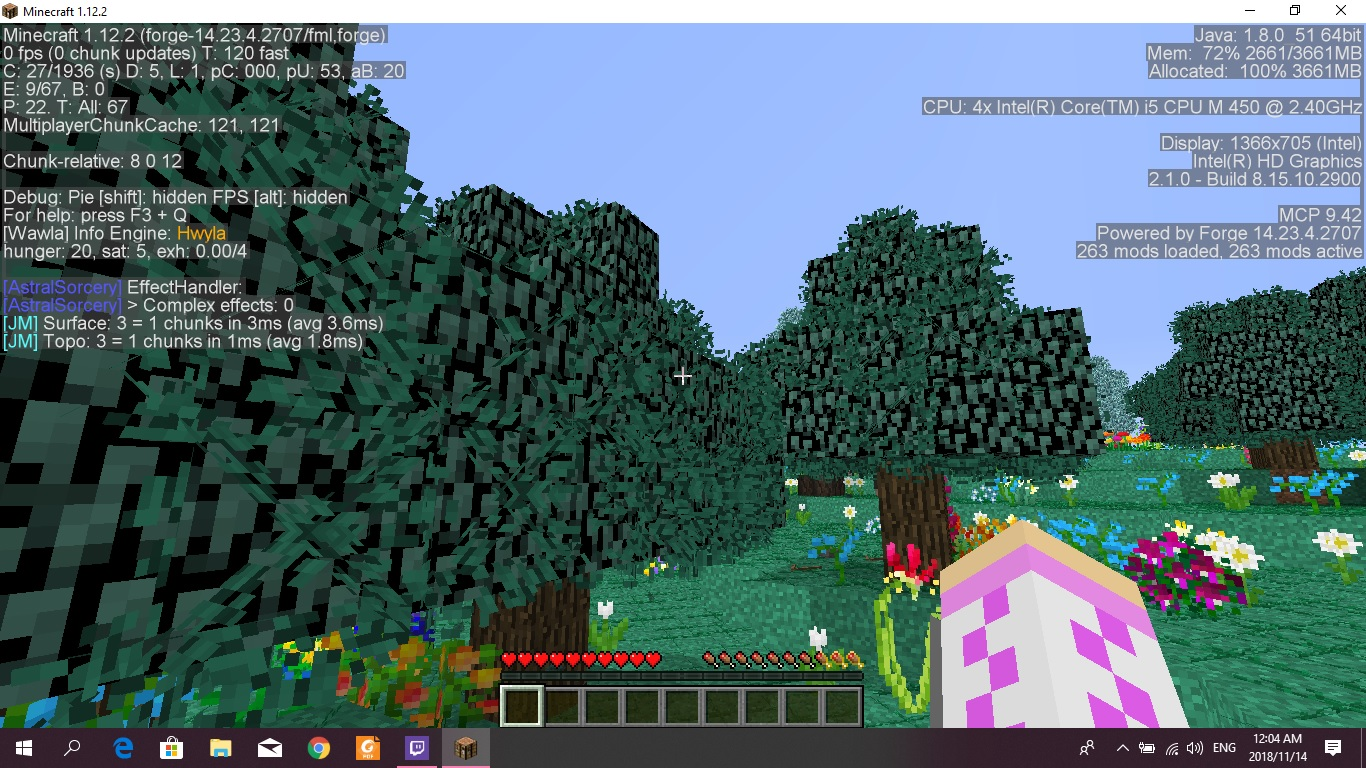 Minecraft Modded Suddenly Low FPS - Java Edition Support