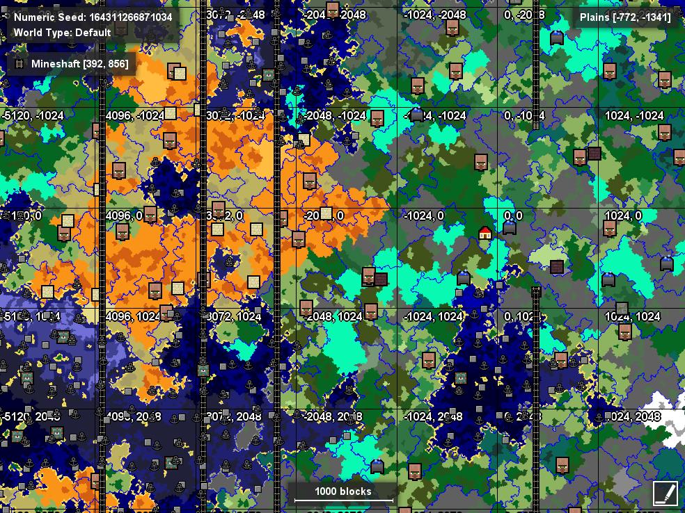 Infinite Mine Shafts - Seeds - Minecraft: Java Edition - Minecraft
