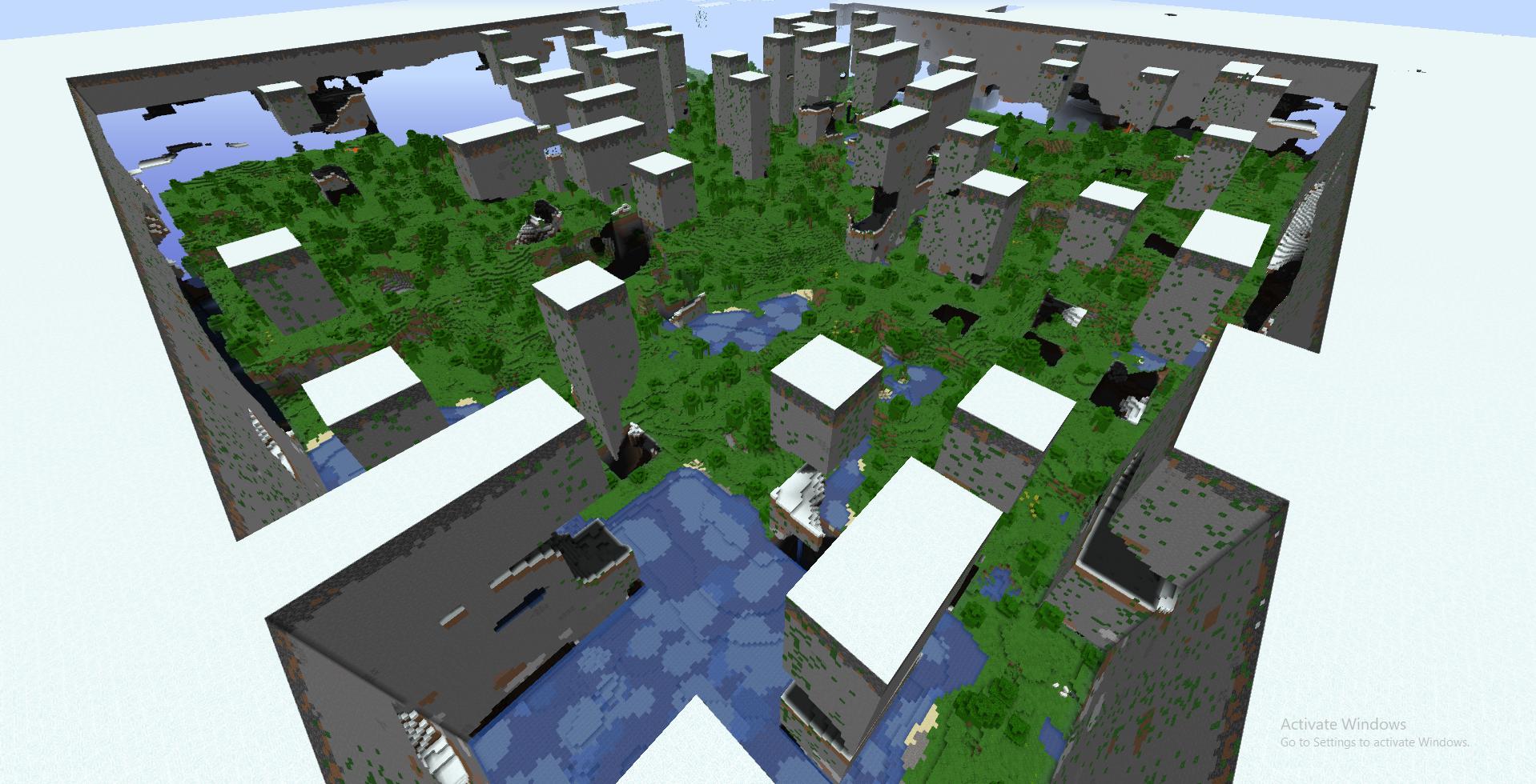 Buffet World Minecraft