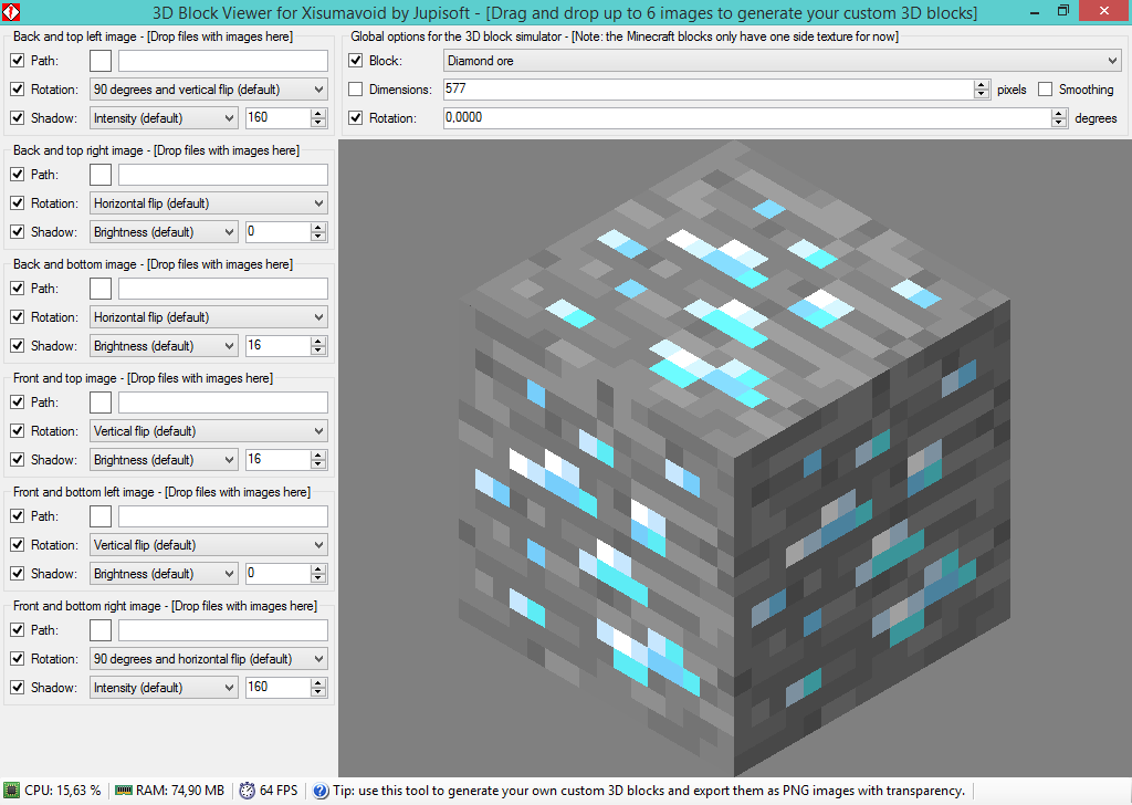 Minecraft Tools in C# for 1 14 with full source code