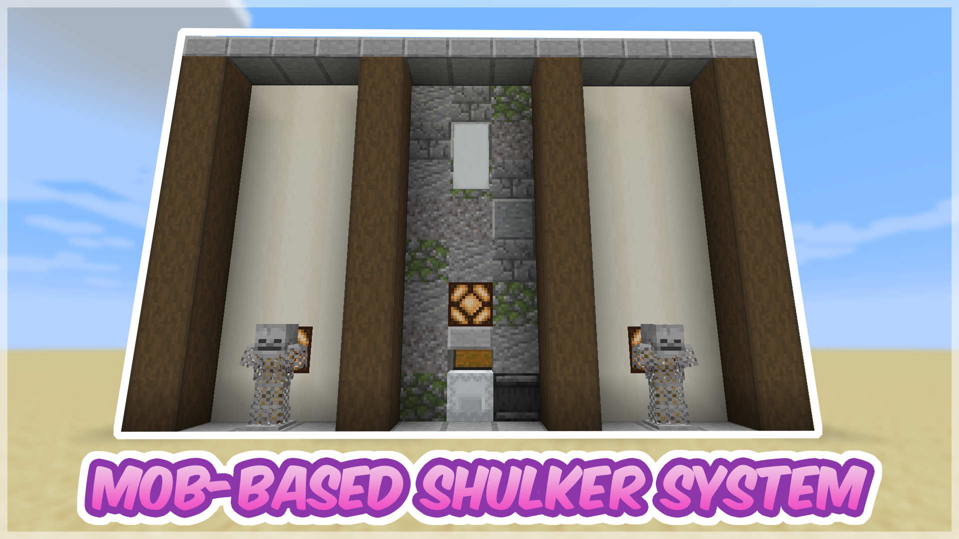 Mob-Based Shulker Storage System Tutorial - Perfect for Mob Farms