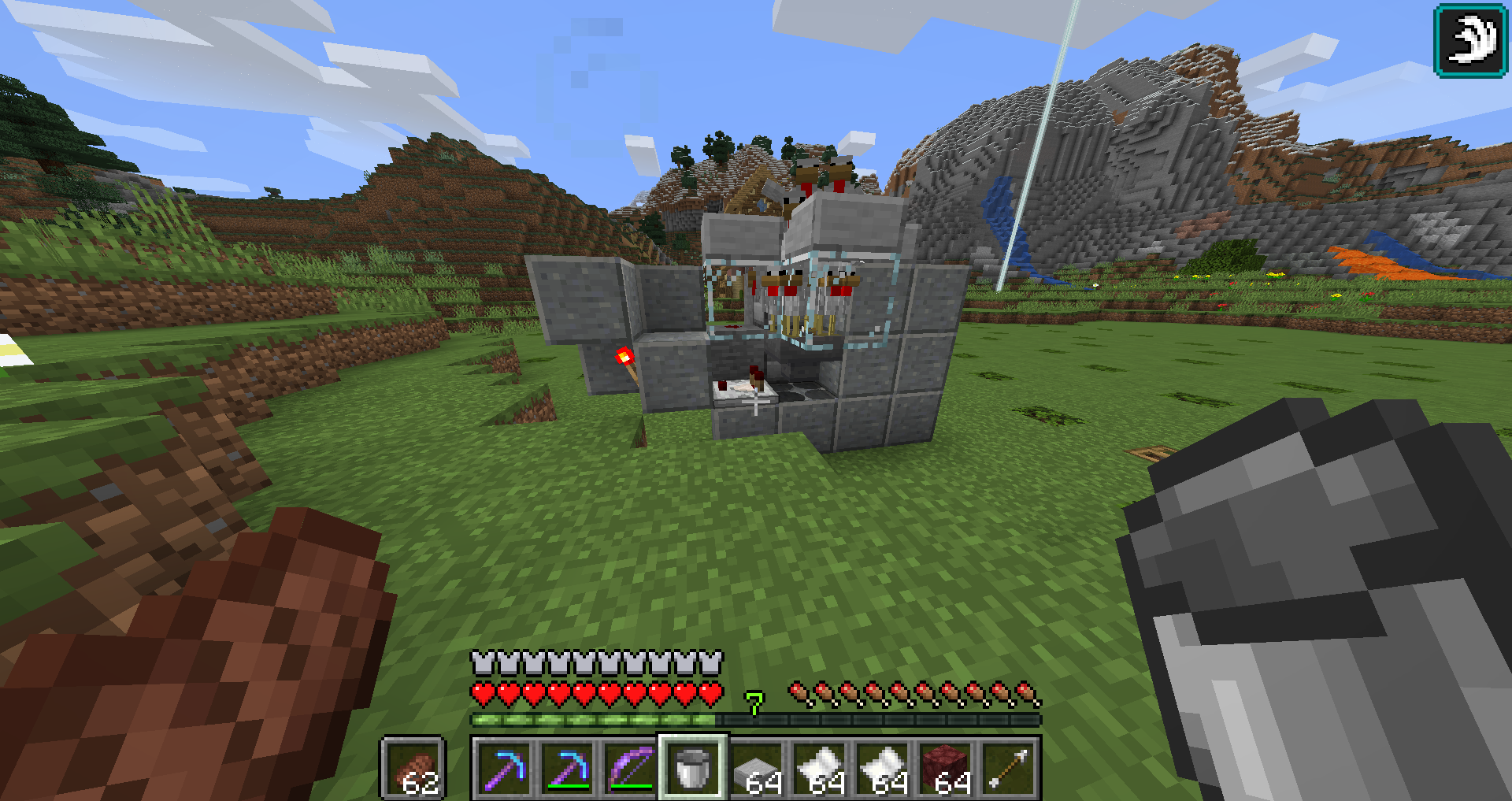 Chicken farms in 1 13 2 - Survival Mode - Minecraft: Java Edition