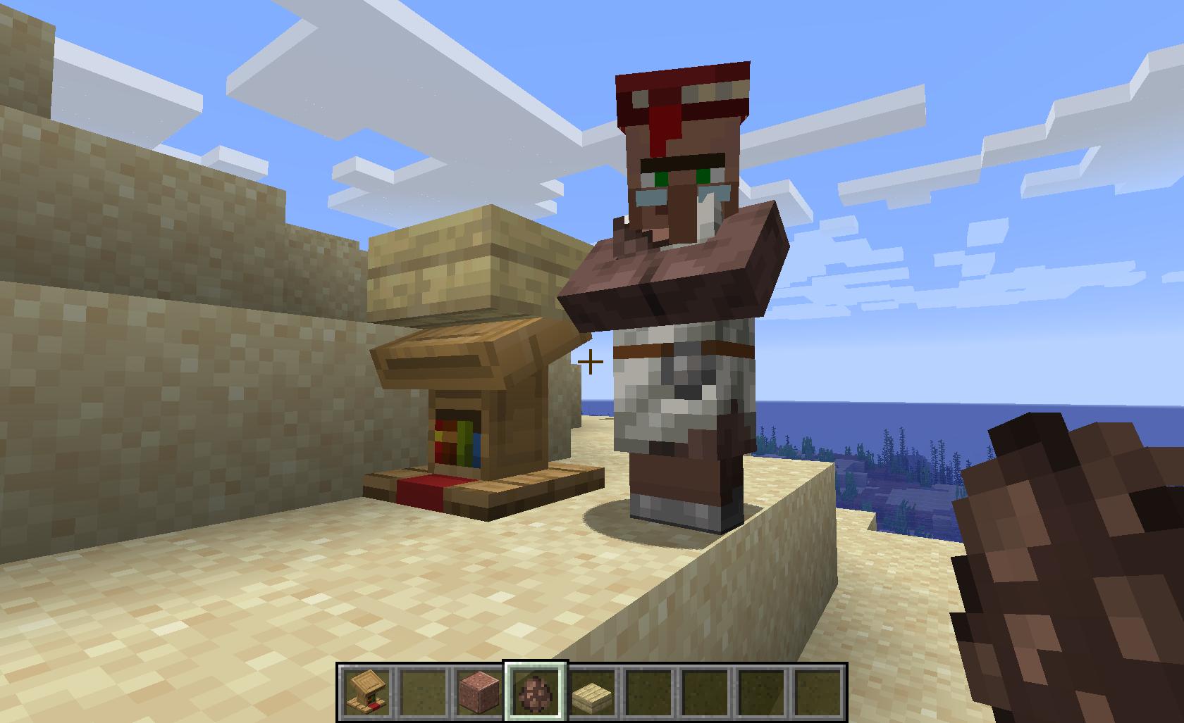 minecraft villager trades 1.13