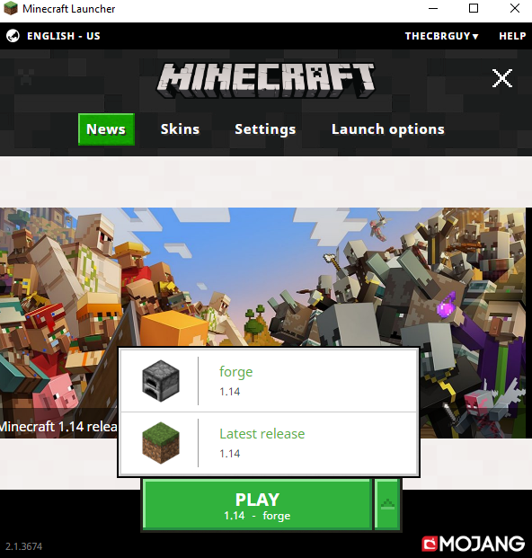no mod button - Java Edition Support - Support - Minecraft