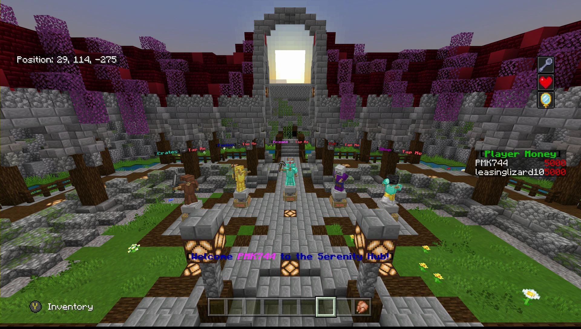 Serenity Kit Pvp Amazing Bedrock Edition Server Like Realm Realms Multiplayer Minecraft Minecraft Forum Minecraft Forum