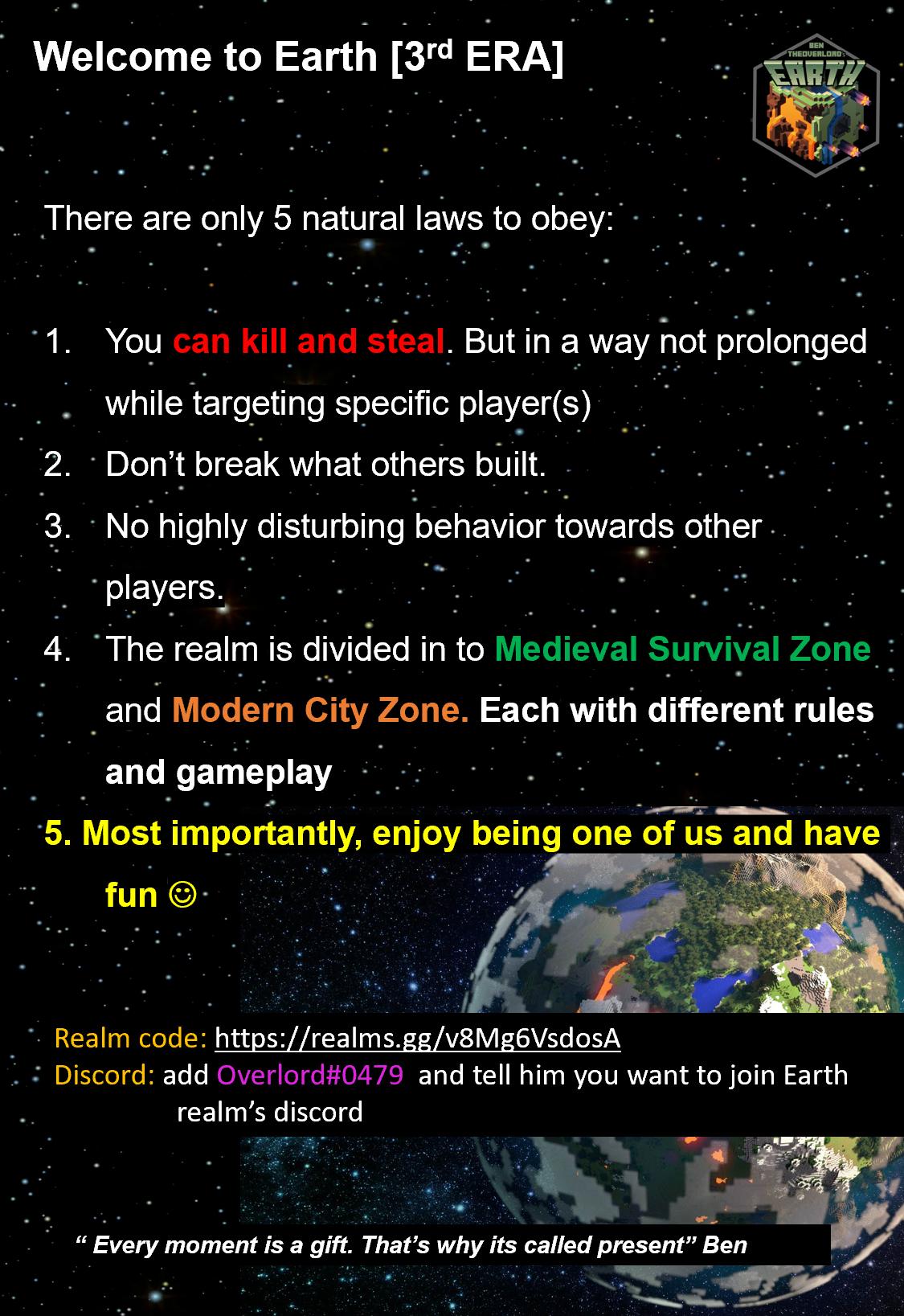 War][Settlement][Trade][Add ons] Earth Realm 3rd Era