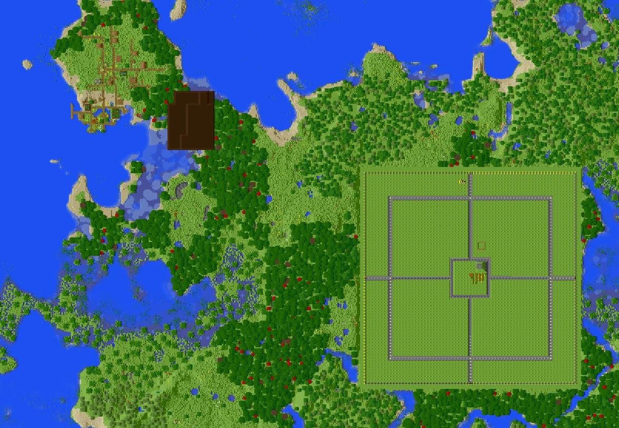 minecraft pillager outpost spawn radius