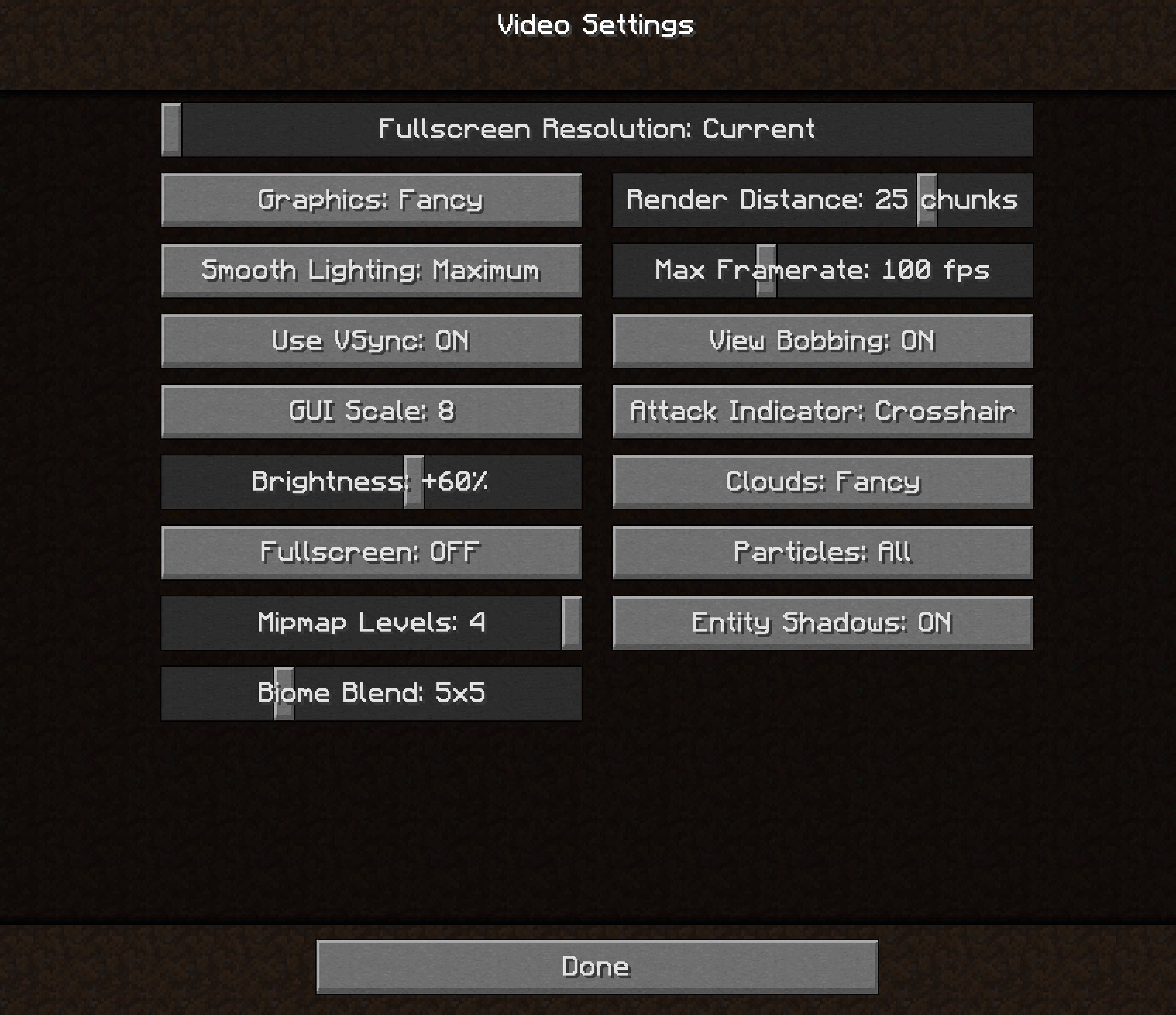 macOS - Minecraft 1 14 3 - Screen tearing with VSync on - Java