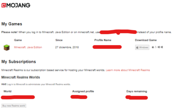 I can't find the code to redeem minecraft windows 10