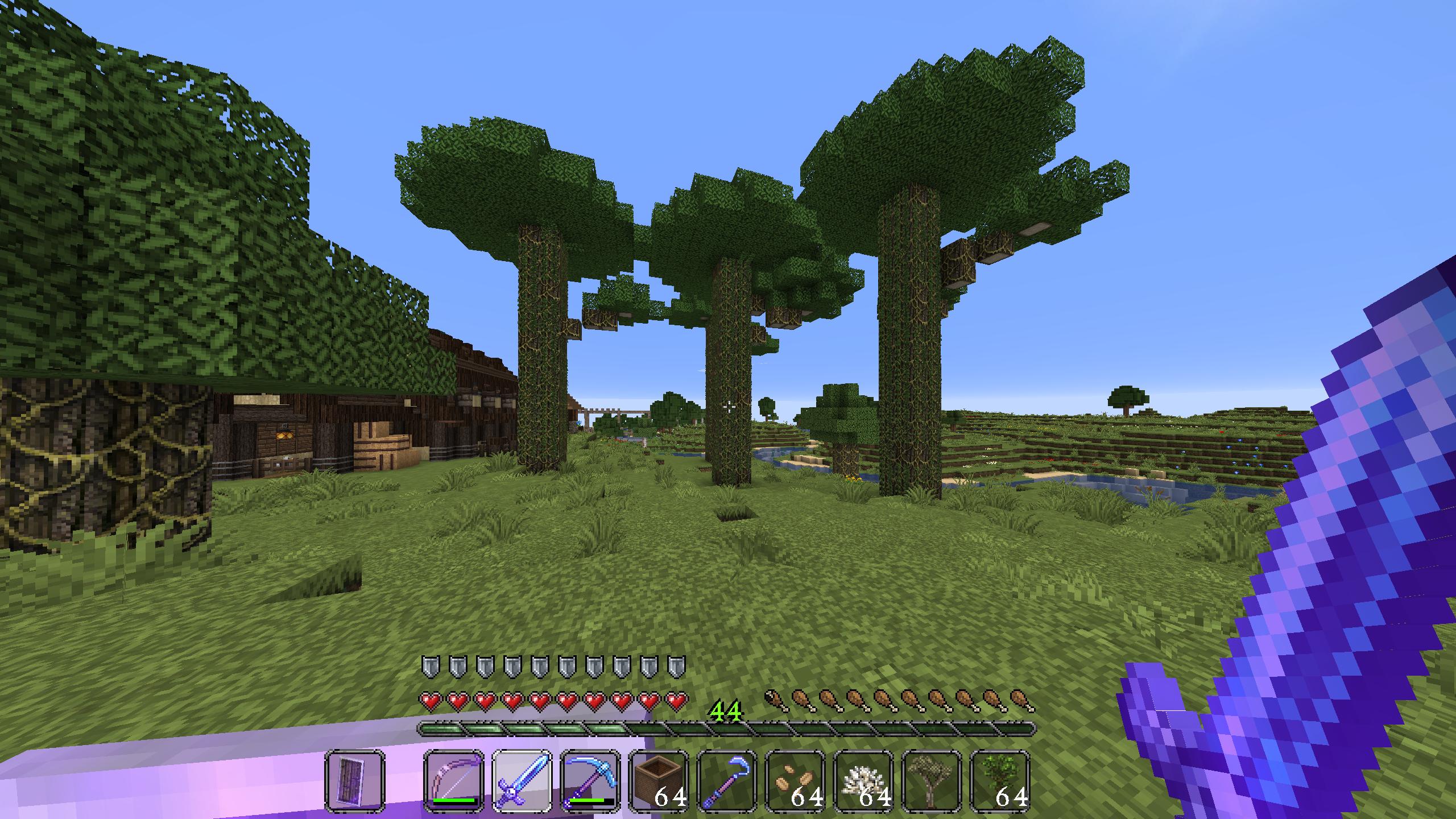 Giant Jungle trees - Survival Mode - Minecraft: Java Edition