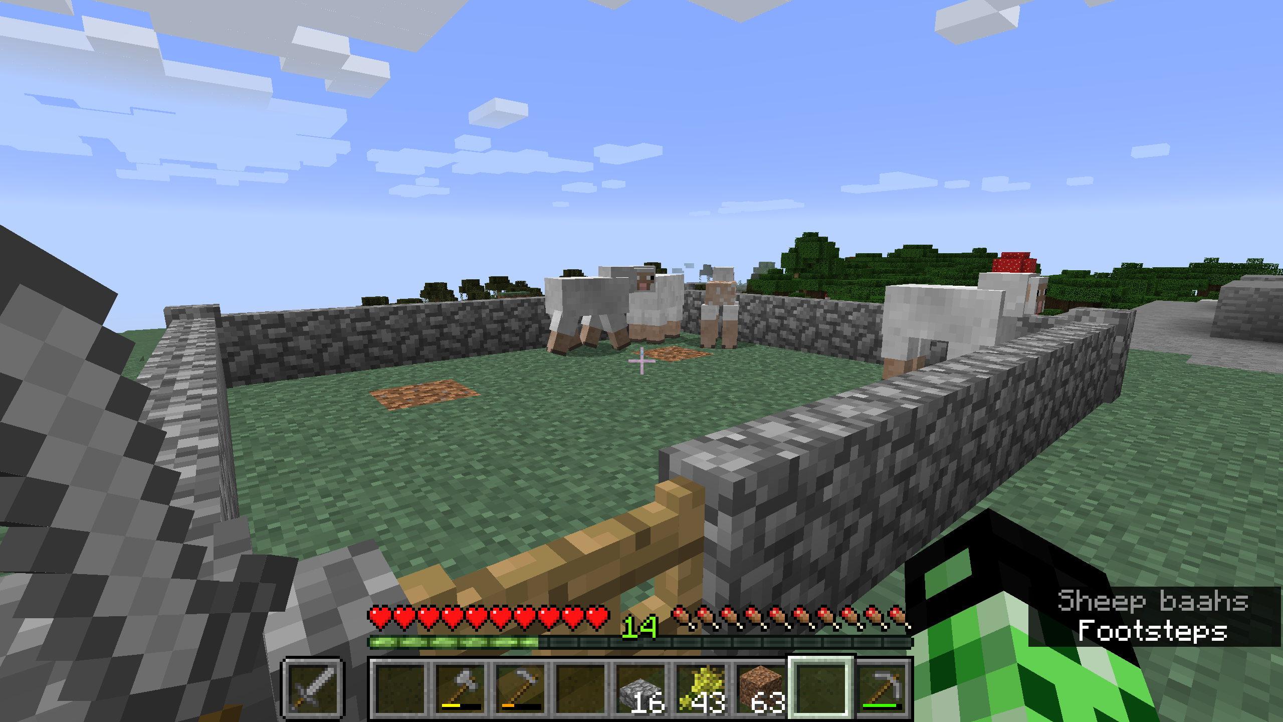 SOLVED] Sheep Refuse to Eat Grass, and therefore will not regrow