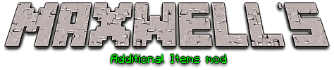 Maxwell's Additional Items mod 1.15.2 icon