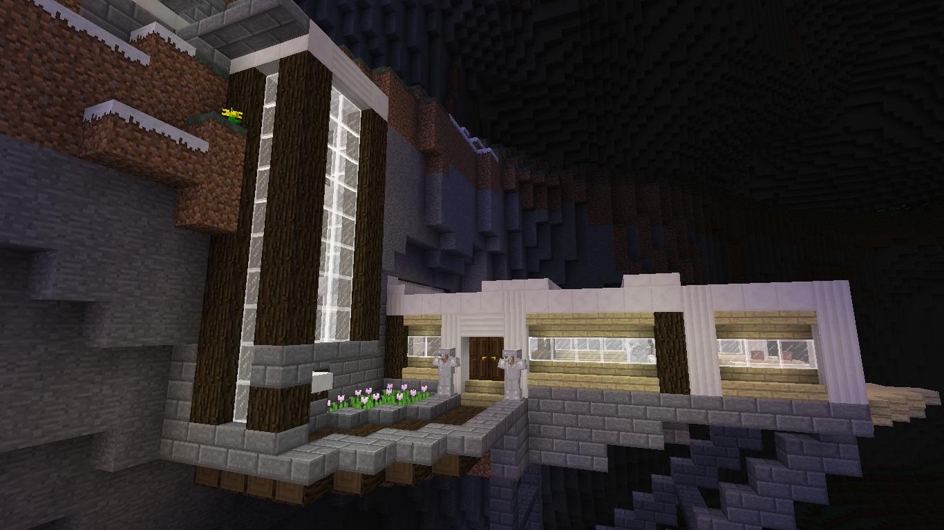Mountainside House First Build D Creative Mode Minecraft Java Edition Minecraft Forum Minecraft Forum