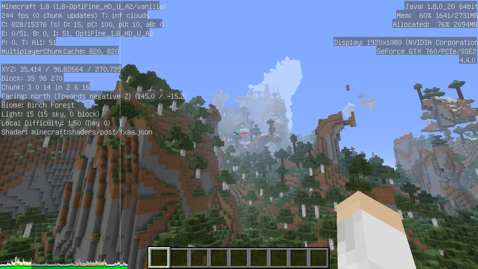 OptiFine HD (FPS Boost, Dynamic Lights, Shaders and much