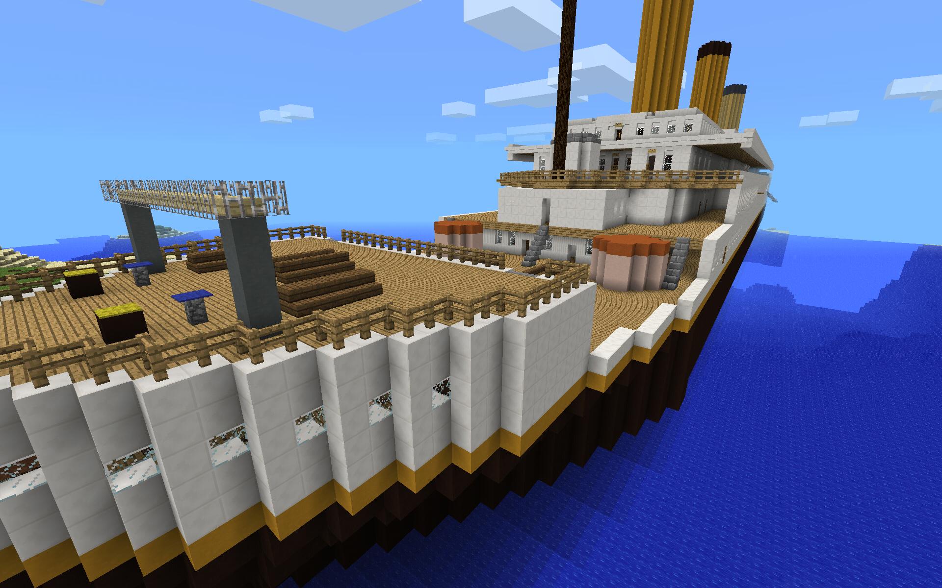 minecraft titanic map