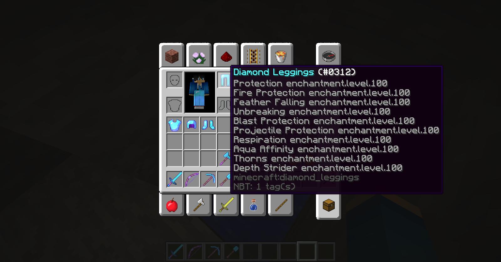 How to use aqua affinity minecraft