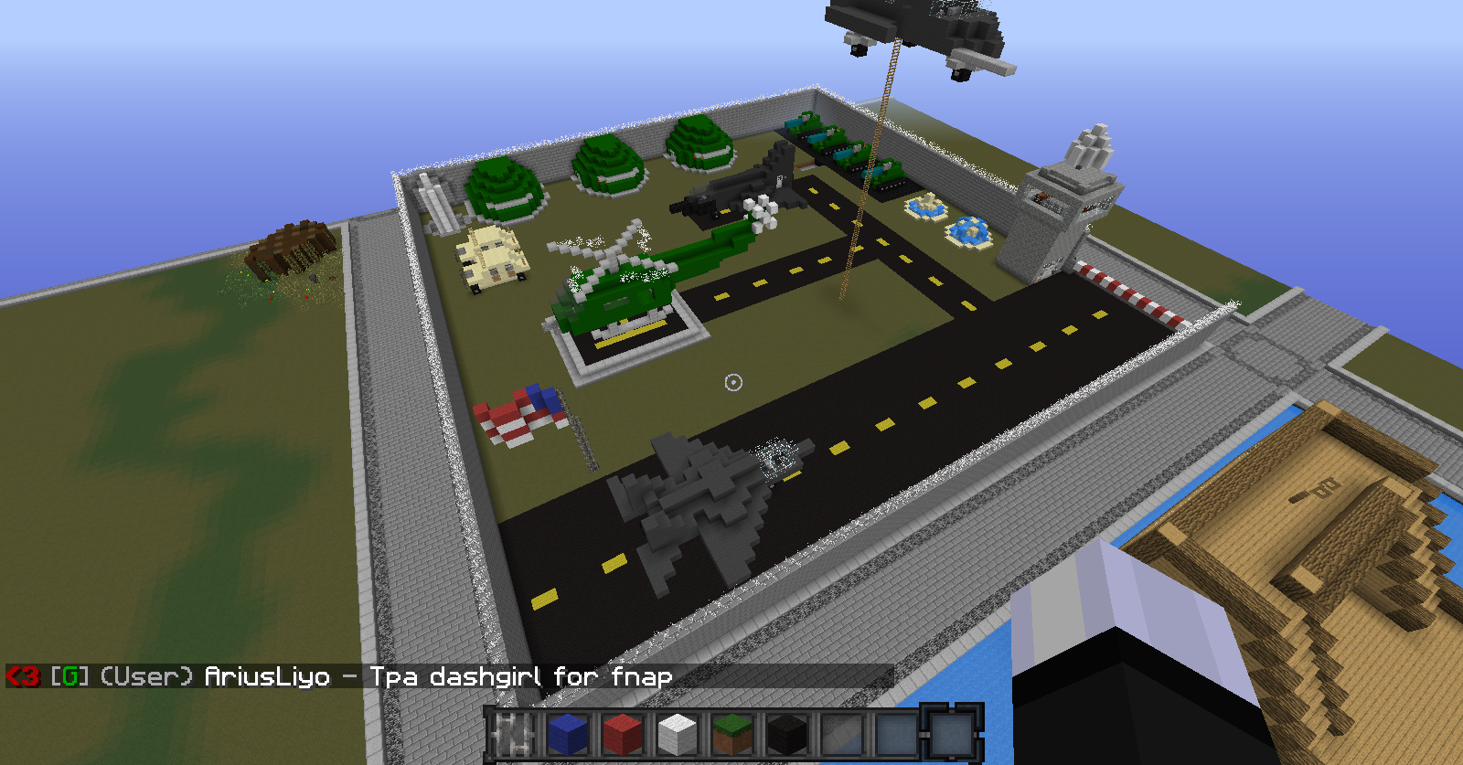 Minecraft Creative: Military Base Designs and Ideas