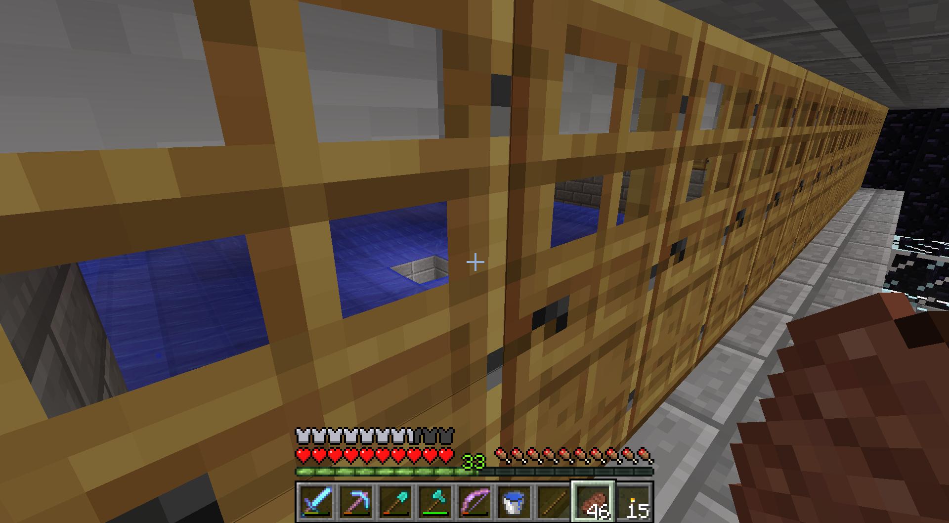 minecraft iron golem spawner farm