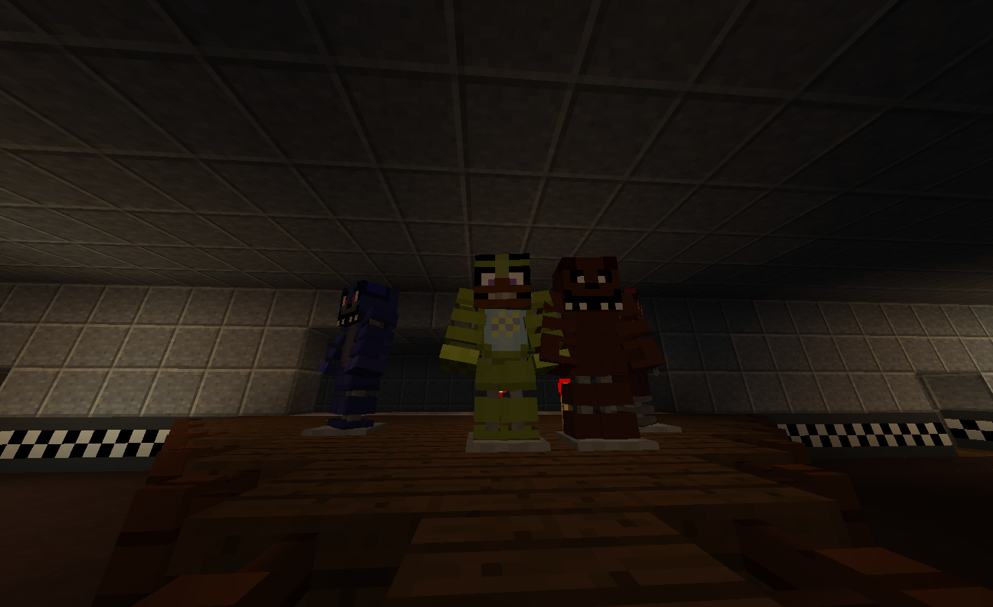 Survive Five Nights at Freddy's 1 Map Vanilla Minecraft