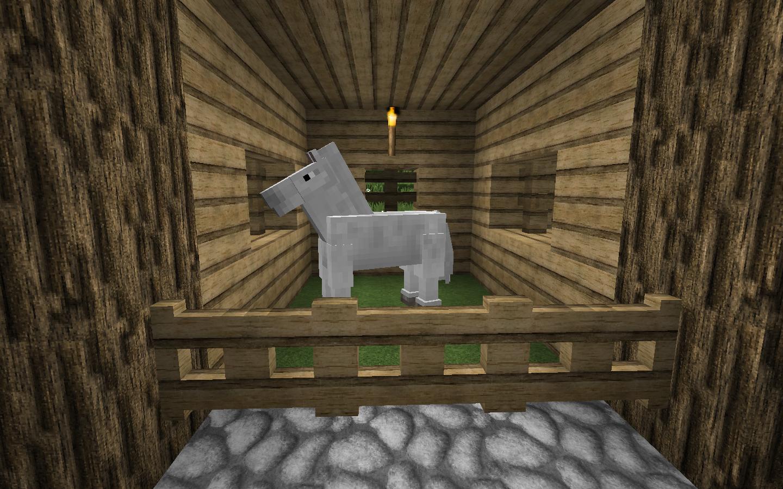 Cool Minecraft Horse Stable Creative Mode Minecraft