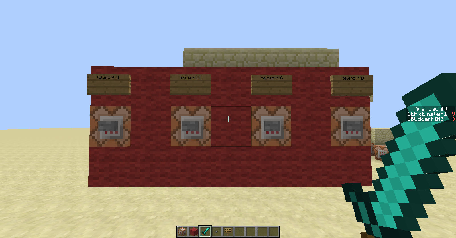 command to teleport in minecraft