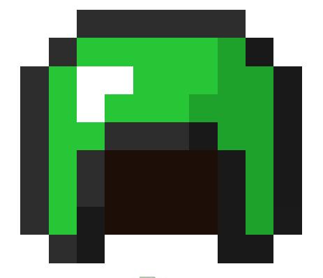emerald armor in minecraft