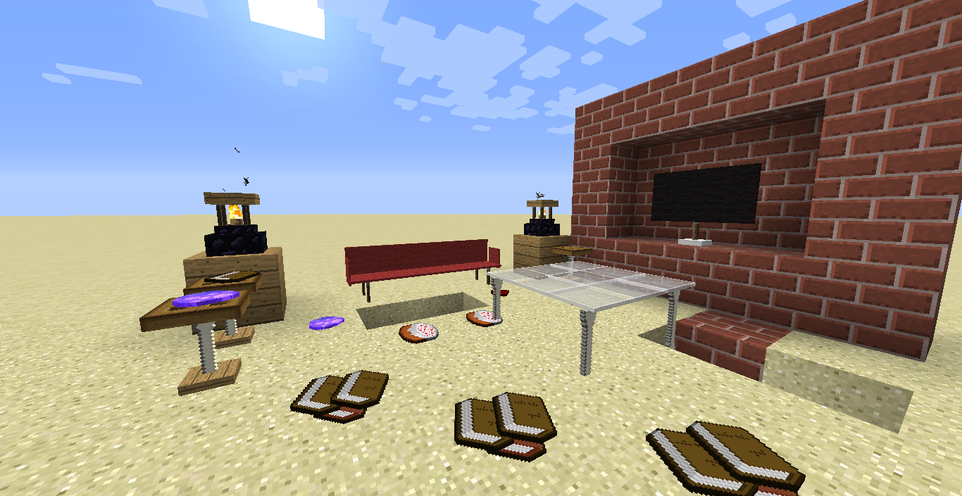 Furniture in Vanilla Minecraft! [with link] - Commands, Command