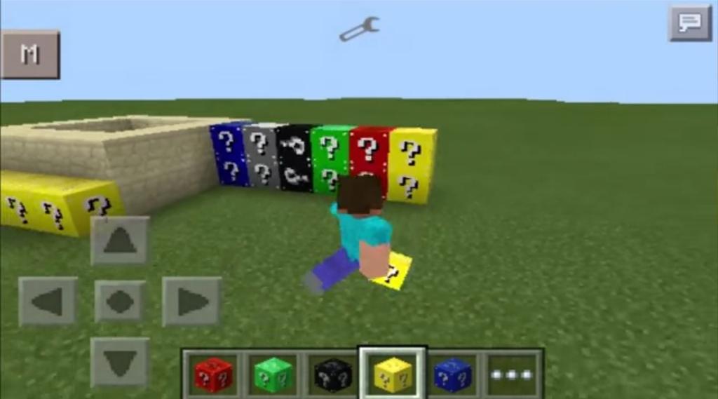 Minecraft PE: Mod Block Lucky color [0 10 5] - MCPE: Mods