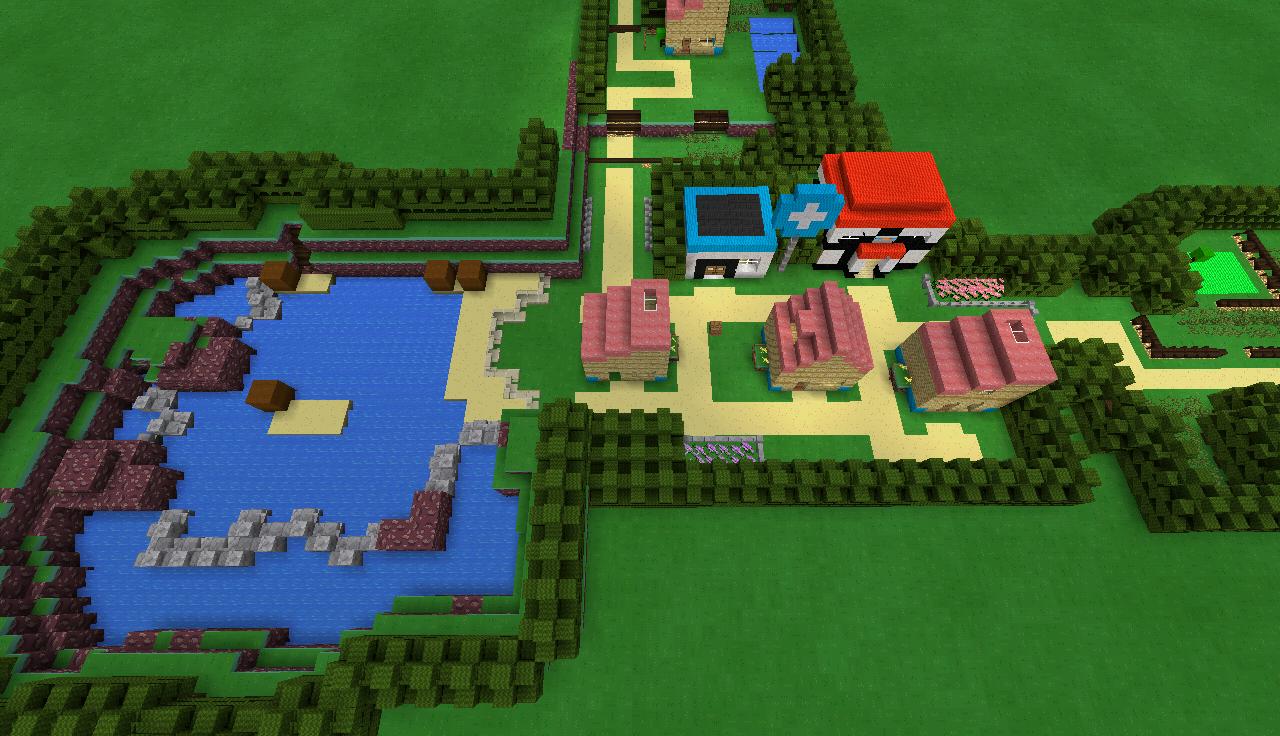 MCPE Johto region - MCPE: WIP Maps - MCPE: Maps - Minecraft