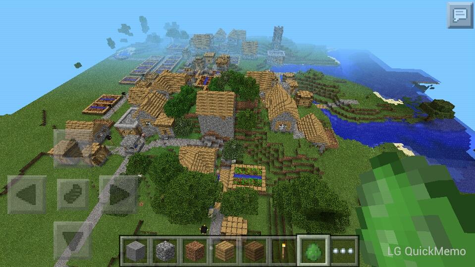 Village Close At Spawn 0 9 2 - MCPE: Seeds - MCPE