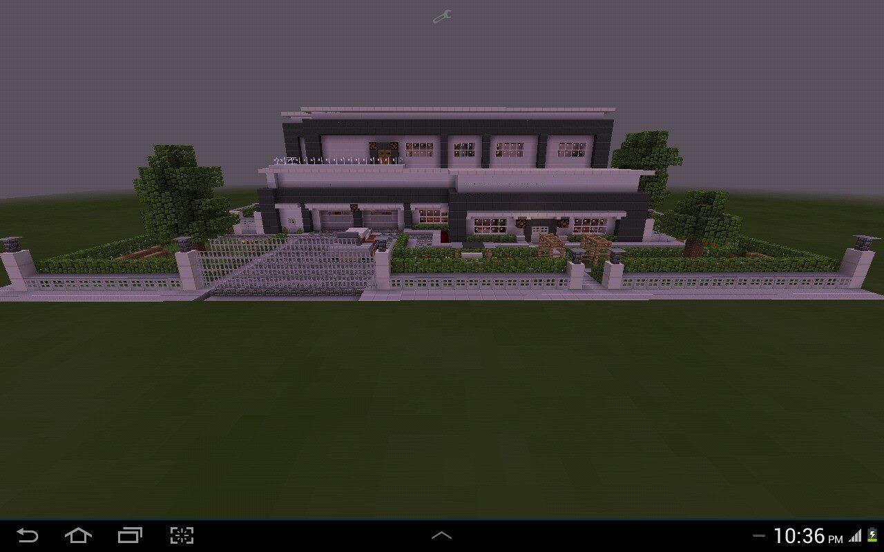 Redstone Modern House (MCPE) - MCPE: Maps - Minecraft