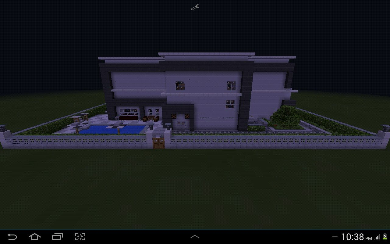 Redstone Modern House (MCPE) - MCPE: Maps - Minecraft
