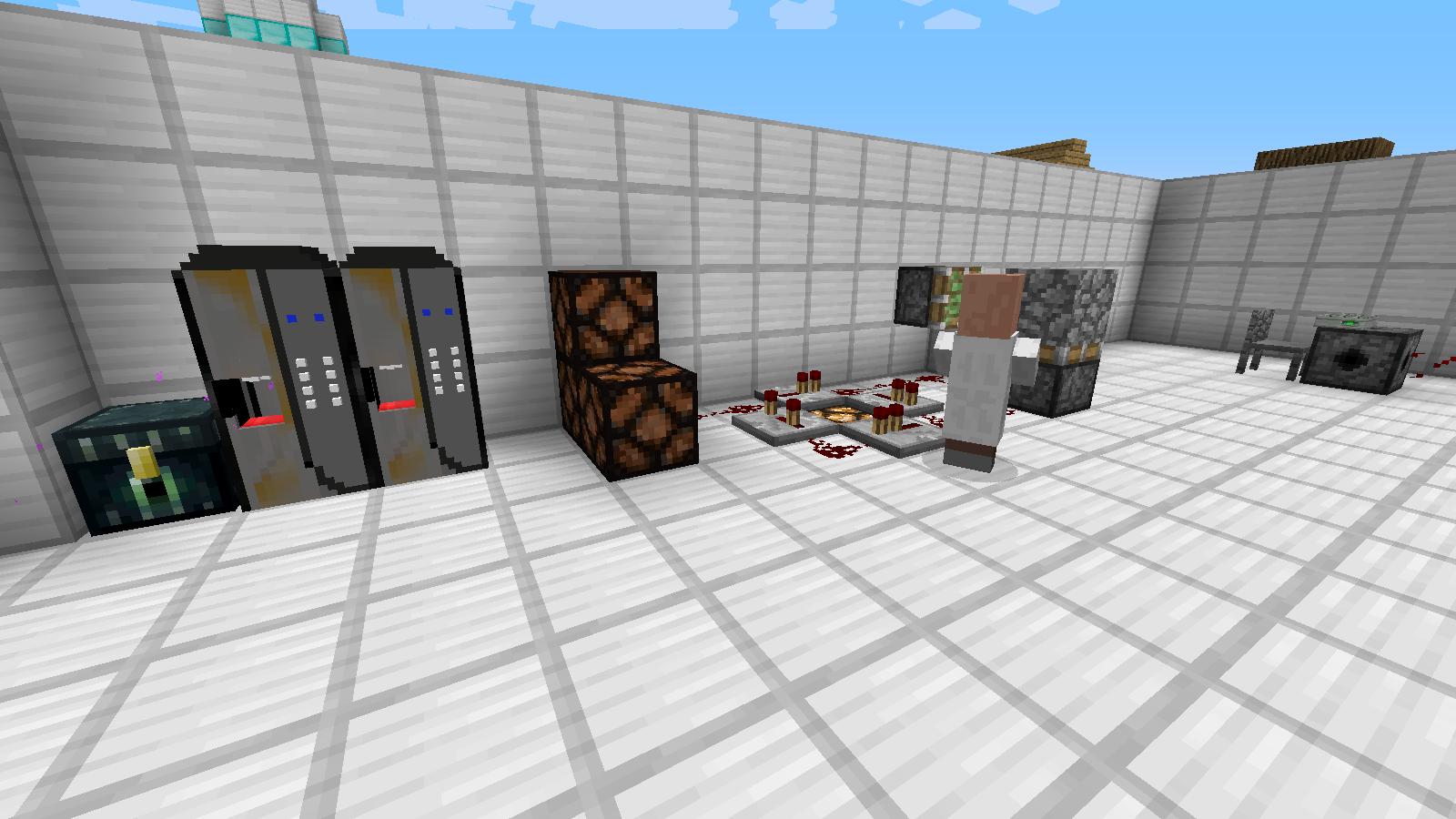 как можно построить в майнкрафт механическая лаборатория бкмэна