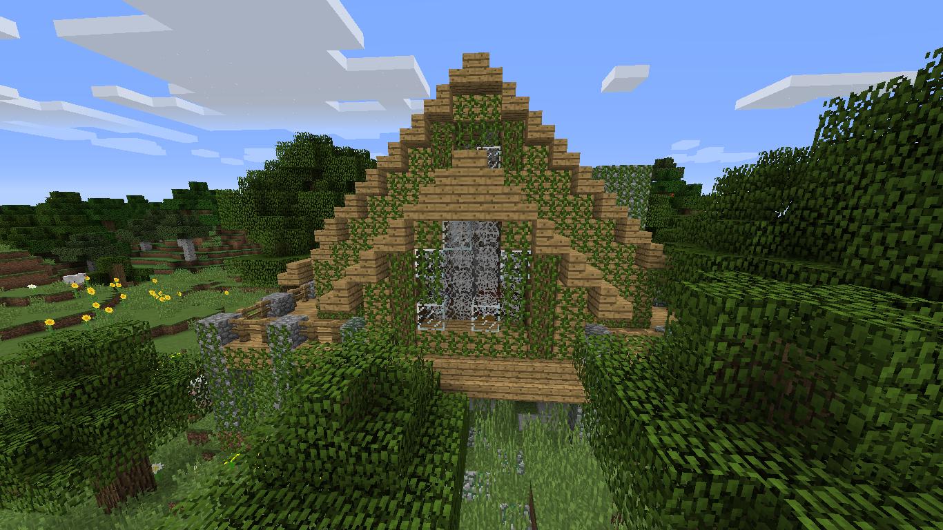 Abandoned house - Creative Mode - Minecraft: Java Edition