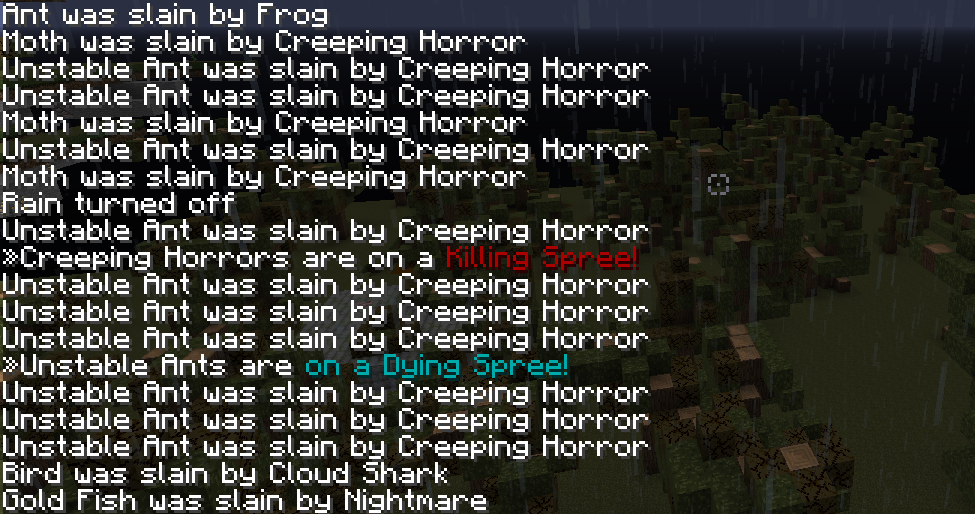 Mob Death Messages - Minecraft Mods - Mapping and Modding: Java