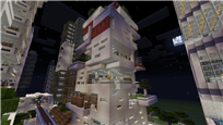 Building based on deconstructivism
