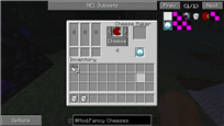 Cheese Maker Interface
