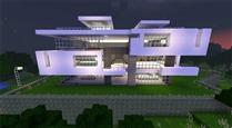Minecraft-modernhouse