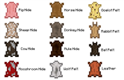 Hide and Pelt Chart