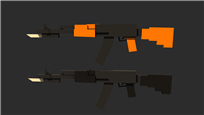 Kilsinoos AK-74M and 74