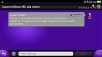 Vita Server Chat