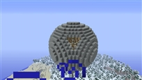 Minecraft  death star 1
