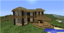 My First Minecraft House, Ever.