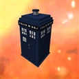 The Tardis, Time vortex should be Purple
