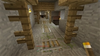 abandoned mineshaft AND End portal fortress