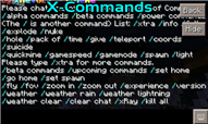 X-Commands Background