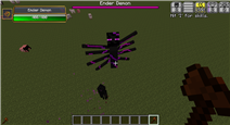 The Ender Demon just wants to kill me again.