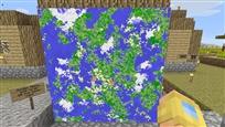 world map Golden Apple size large