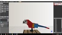 scarlet macaw pciuter