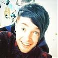 Dantdm blue hair